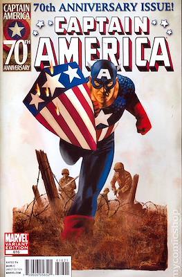 Captain America Vol. 5 (2005-2011 Variant Cover) (Comic Book) #616