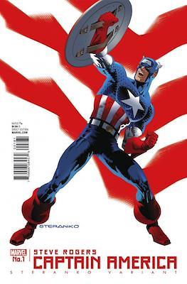 Captain America: Steve Rogers. Variant Covers