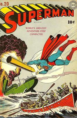 Superman Vol. 1 / Adventures of Superman Vol. 1 (1939-2011) (Comic Book) #20