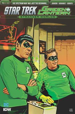 Star Trek Green Lantern Vol. 2: Stranger Worlds (Comic Book) #4.2