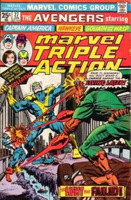 Marvel Triple Action Vol 1 (Comic-book.) #27