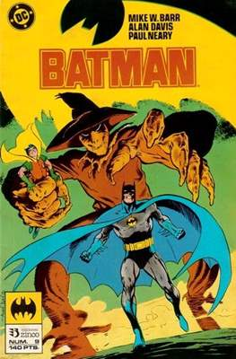 Batman (1987-1993) (Grapa) #9