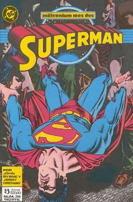 Superman: El Hombre de Acero / Superman Vol. 2 (Grapa 36 pp) #35
