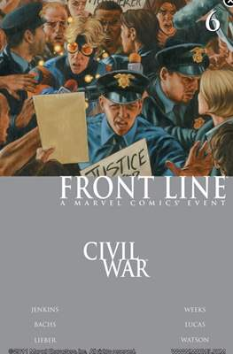 Civil War: Front Line (Comic-Book) #6
