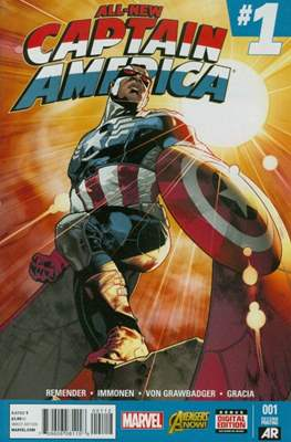 All-New Captain America (Variant Cover) #1.01