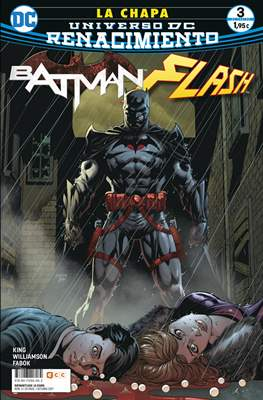 Batman / Flash: La chapa. Renacimiento. (Grapa 24 pp) #3
