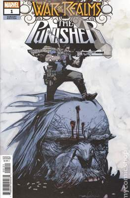 The War of the Realms: The Punisher (Variant Covers) (Comic Book) #1.2