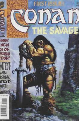 Conan the Savage #1