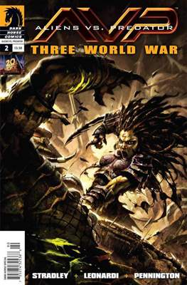 Aliens vs Predator: Three World War (Comic Book) #2