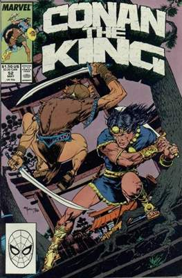 King Conan/Conan the King (1980-1989) (Grapa, 48 págs.) #52