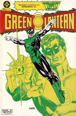 Green Lantern (1986-1987) (Grapa, 36-52 páginas) #8