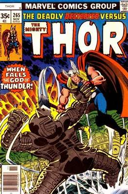 Journey into Mystery / Thor Vol 1 (Comic Book) #265