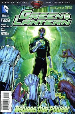 Green Lantern Vol. 5 (2011-2016) (Comic book) #21