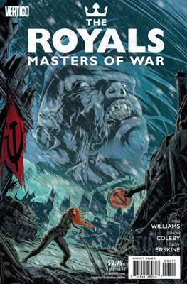 The Royals: Masters of War (Comic Book) #4