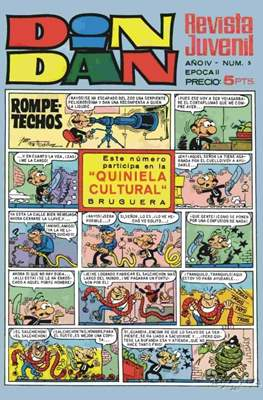 Din Dan 2ª época (1968-1975) (Grapa) #5