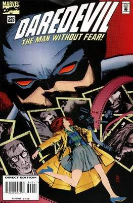 Daredevil Vol. 1 (1964-1998) (Comic Book) #340