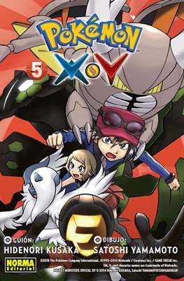 Pokémon X·Y (Rústica con solapas) #5