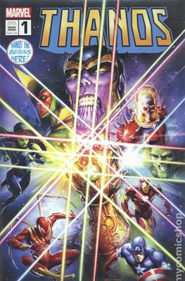 Thanos (2019 Variant Cover) #1.8