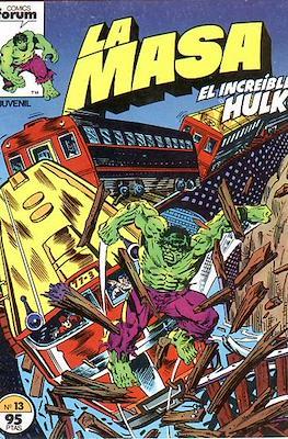 La Masa. El Increíble Hulk #13