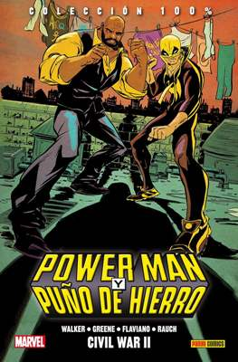 Power Man y Puño de Hierro. 100% Marvel HC (Cartoné 112-128 pp) #2