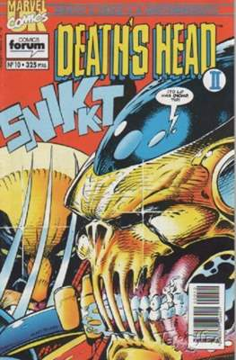 Death's Head II / Motormouth (1993-1994) (Grapa. 17x26. 48 páginas. Color.) #10