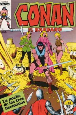 Conan el Bárbaro (1983-1994) (Grapa 24-36 pp) #52