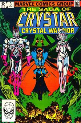 Saga of Crystar, Crystal Warrior #3