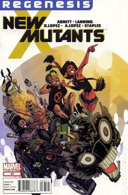 New Mutants Vol. 3 (Comic Book) #33