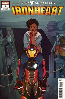 Ironheart (2018- Variant Cover) #1.4