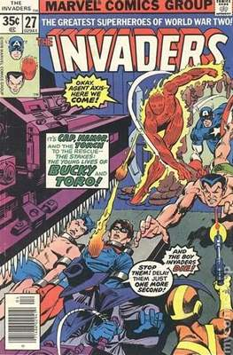 The Invaders (Comic Book. 1975 - 1979) #27