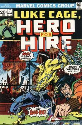 Hero for Hire/Power Man Vol.1 (1972-1978) (Grapa, 32 págs.) #7