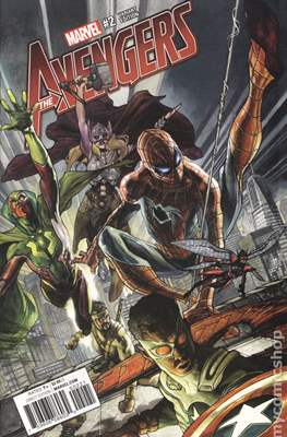 The Avengers Vol. 7 (2016-...Variant Covers ) (Grapa) #2.2