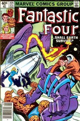 Fantastic Four Vol. 1 (1961-1996) (saddle-stitched) #221