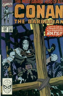 Conan The Barbarian (1970-1993) (Comic Book 32 pp) #236