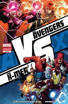 AvX: Vs (Avengers vs. X-Men) (Comic Book) #6