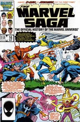 Marvel Saga (Comic-book.) #16