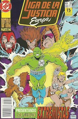Liga de la Justicia Europa (1989-1992) (Grapa) #35
