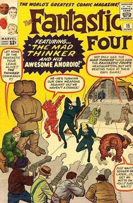 Fantastic Four Vol. 1 (1961-1996) (saddle-stitched) #15