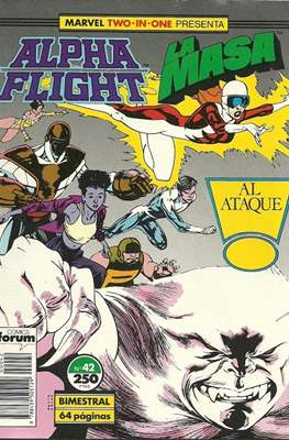 Alpha Flight vol. 1 / Marvel Two-in-one: Alpha Flight & La Masa vol.1 (1985-1992) (Grapa 32-64 pp) #42