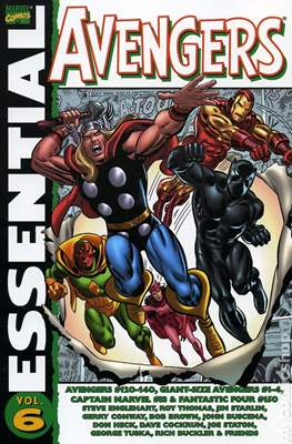 The Essential Avengers (Softcover 1st Edition) #6