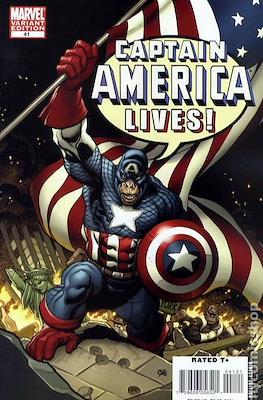 Captain America Vol. 5 (2005-2011 Variant Cover) (Comic Book) #41