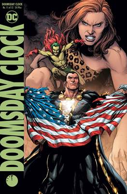 Doomsday Clock (Variant Covers) (Comic Book) #11