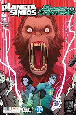 Green Lantern / El Planeta de los Simios #4