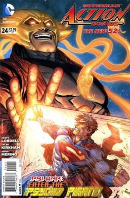 Action Comics Vol. 2 (2011-2016) (Grapa) #24