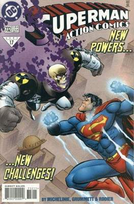Action Comics Vol. 1 (1938-2011; 2016-) (Comic Book) #732