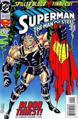 Superman: The Man of Steel (Comic book) #29