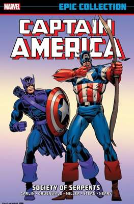 Captain America Epic Collection #12
