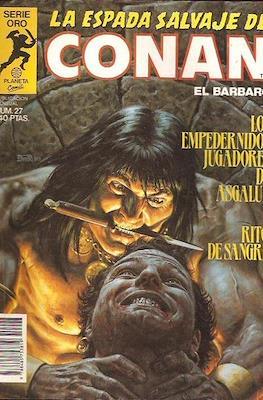 La Espada Salvaje de Conan. Vol 1 (1982-1996) (Grapa. B/N.) #27