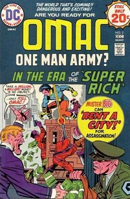 OMAC Vol 1 (Comic Book. 1974 - 1975) #2