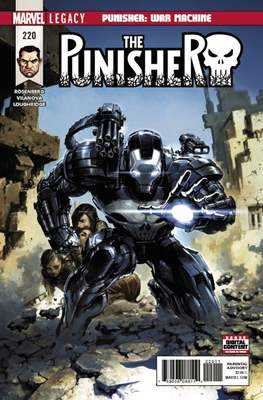 The Punisher Vol. 11 (2017) (Comic-book) #220